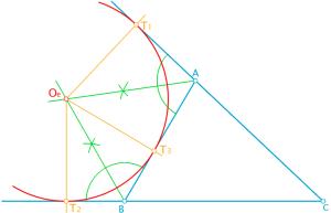 Bisectrices de los ángulos de un triángulo 1