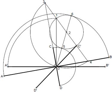 Elipse 004 diametros reales a partir de los conjugados